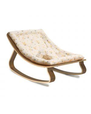 CHARLIE CRANE - Baby Rocker Levo in with Garbo & Friends Mimosa cushion