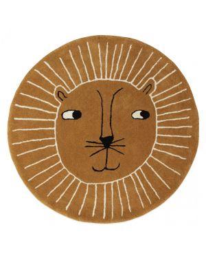 Oyoy - LION RUG - CARAMEL