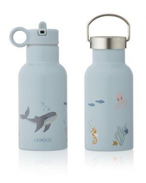 Liewood - Anker water bottle - Sea Creature Mix
