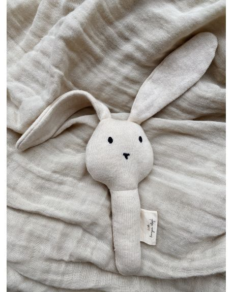 Konges Sløjd - Activity Hand rabbit - Off White Melange