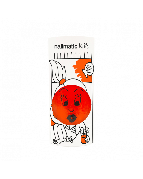Nailmatic - Vernis à ongle à l'eau - Dori orange