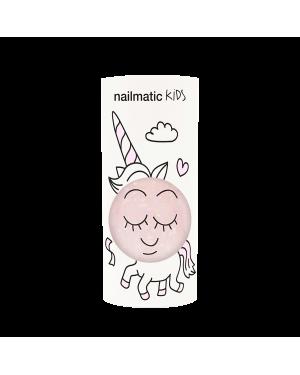 Nailmatic - Polly - Clear Pink Glitter Nail Polish