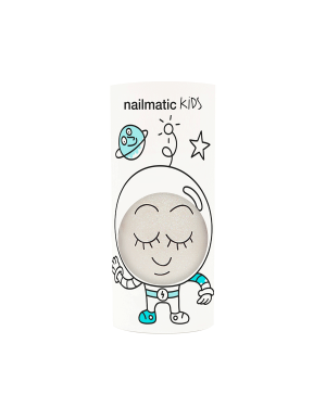 Nailmatic - Vernis à ongle à l'eau - Vernis Super - Blanc pailleté
