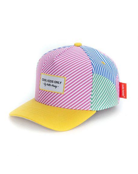 Hello Hossy - Éco-responsable Stripes Cap - different sizes