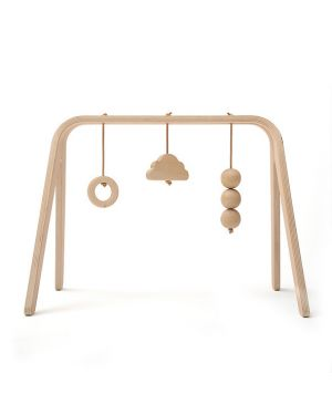 CHARLIE CRANE - Play Arch with toys - wood