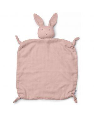 Liewood - Rabbit Cuddle Cloth Agnete - Organic Cotton - Rose
