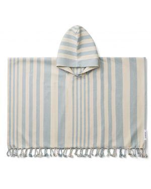 Liewood - Poncho Roomie - Sea Blue - 1 à 2 ans