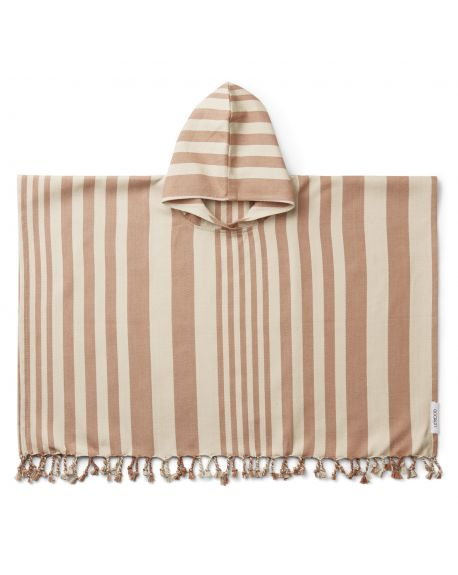 Liewood - Roomie poncho - Tuscany rose/sandy - 1 to 2 Y
