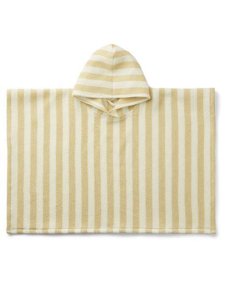 Liewood - Paco poncho - Wheat yellow/sandy - many sizes