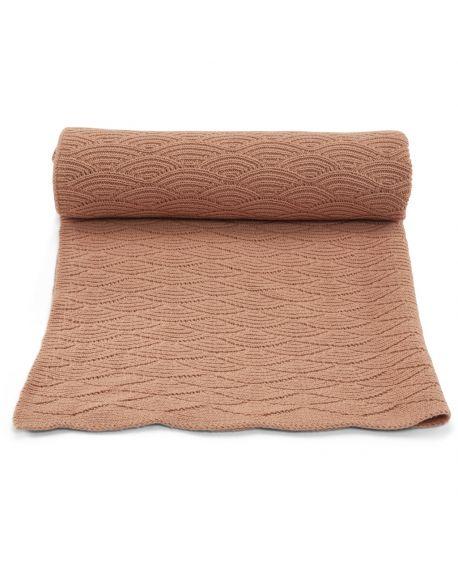 Konges Sløjd - Blanket Pointelle - Off white - 100x70 cm