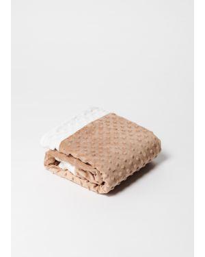 Elva Senses - Baby Sensory Bubble Blanket - Nougat/White