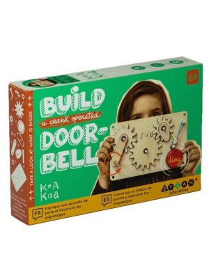 Poppik - SCIENCE GAME – GEAR KIT THE CRANKED DOORBELL (AGES 6+)