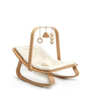 CHARLIE CRANE - Play Arch LEVO with toys - Beech wood
