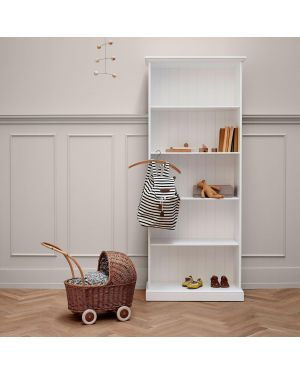 Oliver Furniture - Seaside Shelving unit High, White