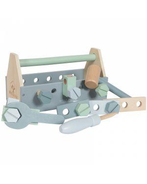 Little Dutch - Boîte à outil en bois - 20 pièces