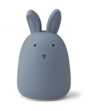 Liewood - Winston night light - Rabbit - stormy blue