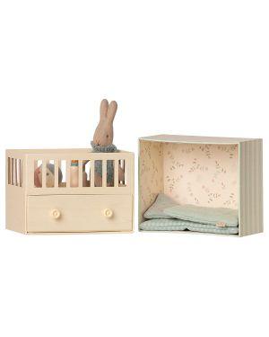 MAILEG - Baby room w. Micro rabbit