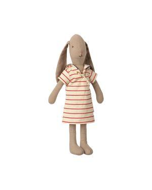 MAILEG - Bunny taille 2 - Robe rayée