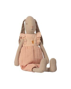MAILEG - Bunny size 3, Dress - Rose
