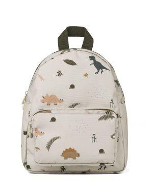 Liewood - Allan backpack - Dino dark sandy mix