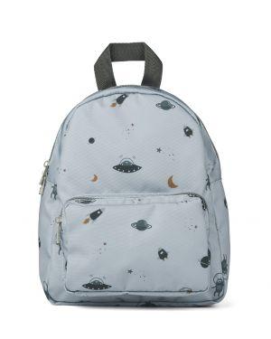 Liewood - Allan backpack - Space blue fog mix