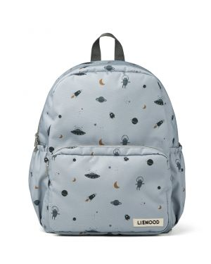 Liewood - James school backpack - Space blue fog mix