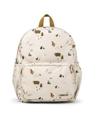Liewood - James school backpack - Friendship sandy mix