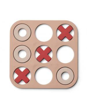Liewood - Kelsey tic tac toe game - Rose multi mix