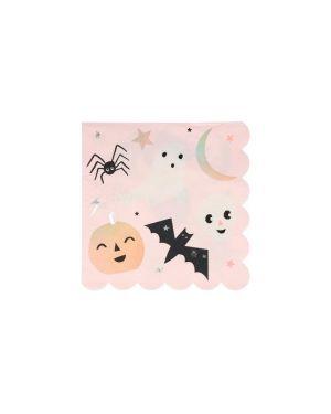 Meri Meri - Pastel Halloween Large Napkins - set of 16