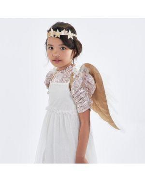 Meri Meri - Déguisement ailes d'ange en tulle et couronne