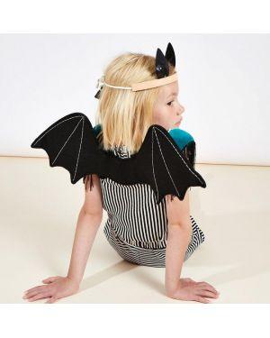 Meri Meri - Déguisement d'ailes de chauve-souris et serre-tête