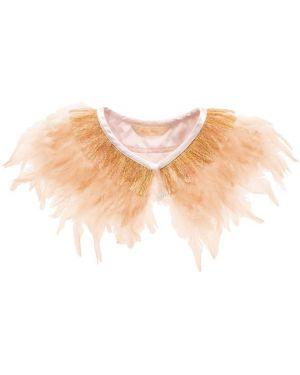 Meri Meri - Peach Feather Capelet - Costume