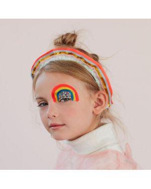 Meri Meri - Rainbow Ruffle Headband