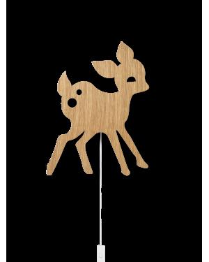 FERM LIVING KIDS - My Deer Lamp - Oak