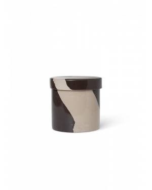 Ferm LIVING - Inlay Container - Sand/Brown - Large