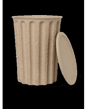 FERM LIVING - Poubelle en papier pulp - brun