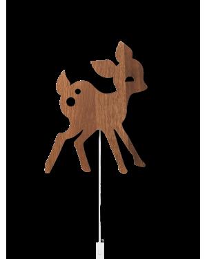 FERM LIVING KIDS - My Deer Lamp - Smoked Oak