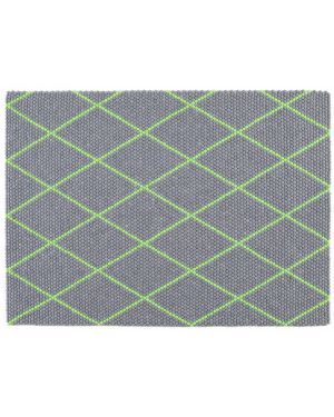 HAY - DOT CARPET ELECTRIC GREEN - Design rug in pure wool - 150 x 200 cm