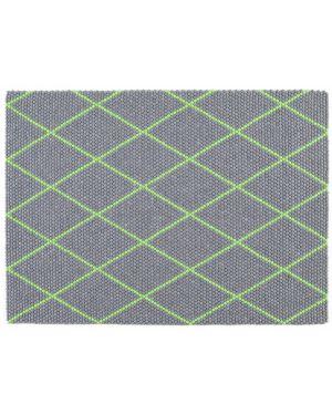 HAY - DOT CARPET ELECTRIC GREEN - Tapis boules de laine 3 dimensions