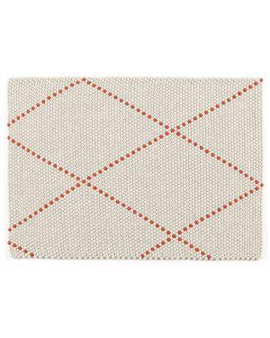 HAY - DOT CARPET POPPY RED - Tapis boules de laine 3 dimensions