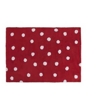 LORENA CANALS - COTON RUG DOTTY- RED 120 x 160 cm