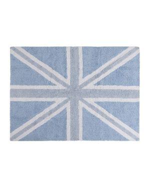 LORENA CANALS - COTON RUG FLAG UK - BLUE 120 x 160 cm