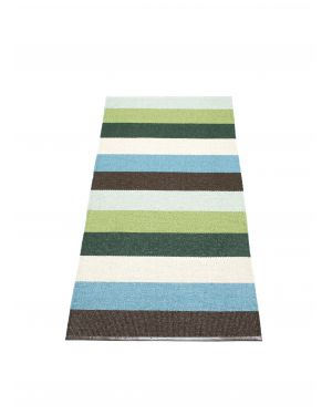 PAPPELINA - MOLLY GREEN - Design plastic rug - 4 sizes available