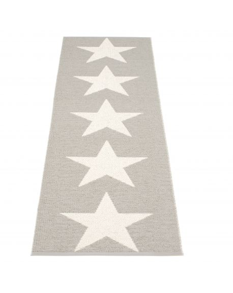 PAPPELINA - VIGGO ONE WARM GREY/VANILLA - Design plastic rug 4 sizes available