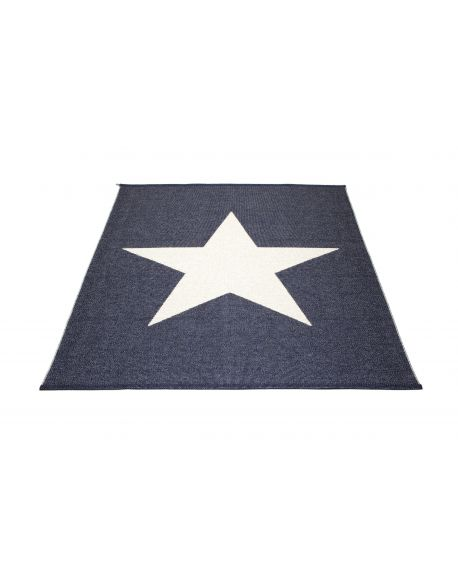 PAPPELINA - VIGGO STAR - Plastic rug 180 x 230 cm 3 colours available
