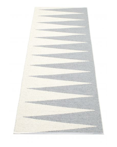 PAPPELINA - VIVI GREY/VANILLA - Design plastic rug 4 sizes available