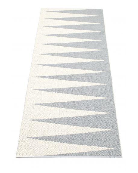 PAPPELINA - VIVI GRIS/VANILLE - Tapis design en plastique 4 tailles disponibles