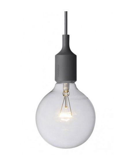 MUUTO-E27 - PENDANT LIGHT - Grey