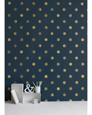 BARTSCH - WALLPAPER - Moon crescents Ink