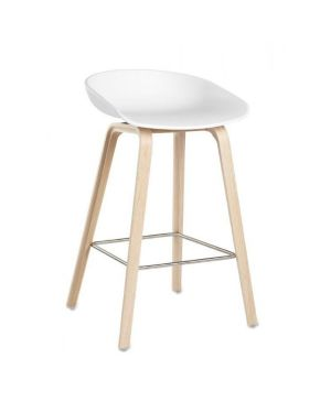 HAY- ABOUT A STOOL - AAS32 - Chaise design - Blanc (H 75cm)